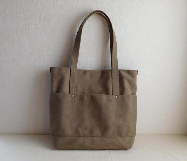 ヴィンテージ帆布のバッグ