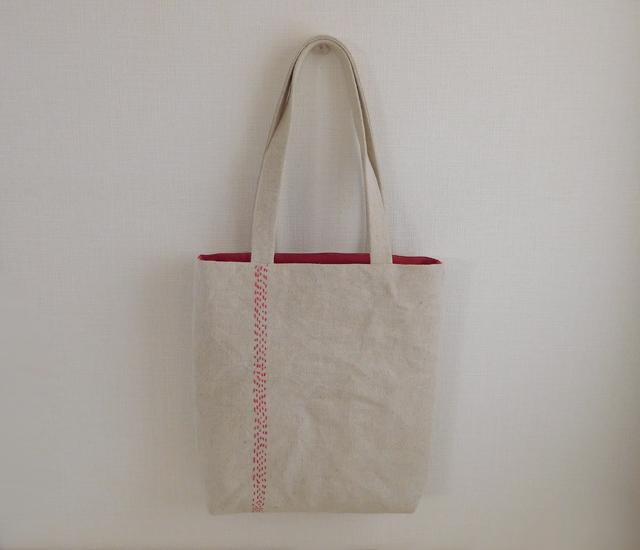 刺し子のバッグ