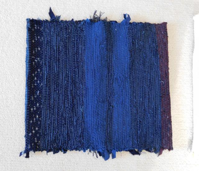裂き織り布