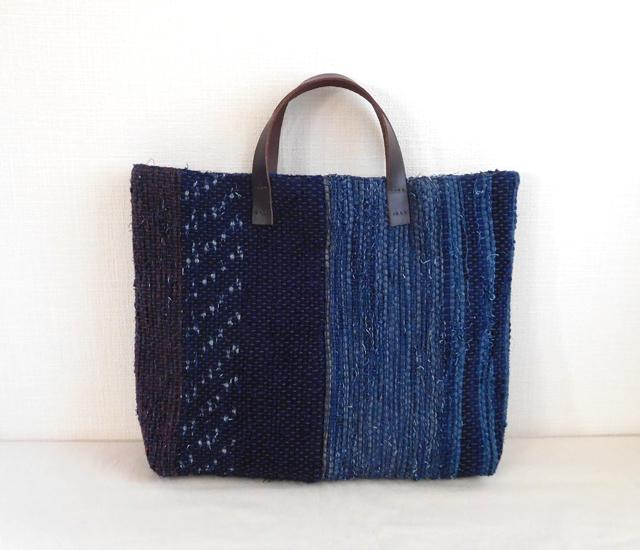 藍染めバッグ