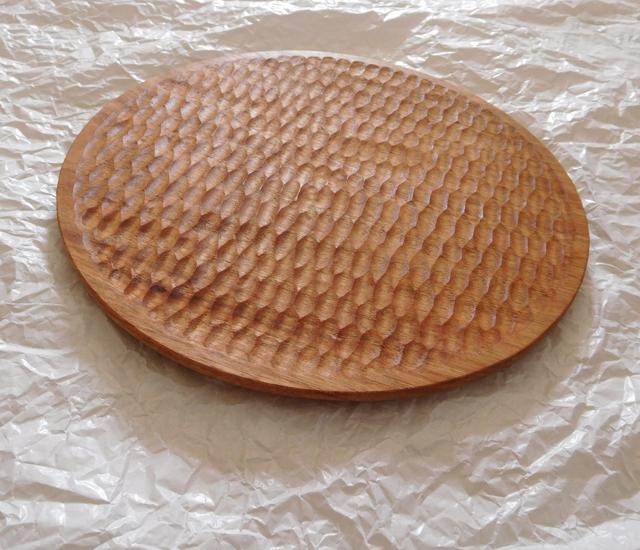 くるみの木の皿