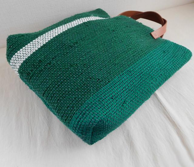 トートバッグ 緑