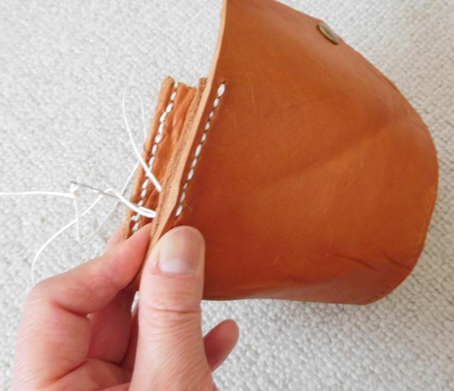 革のカードケース