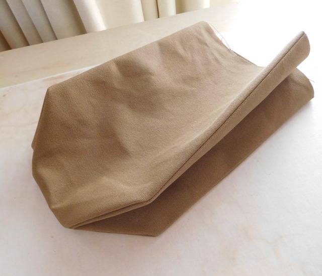 f帆布紙袋バッグ