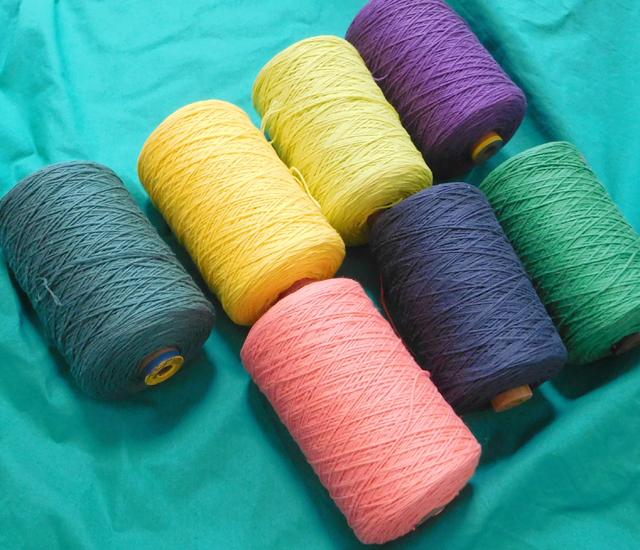 裂き織り糸
