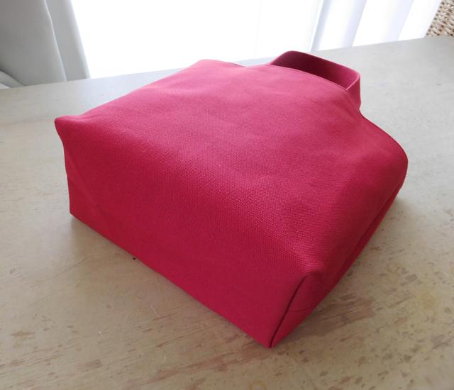 帆布のトートバッグ